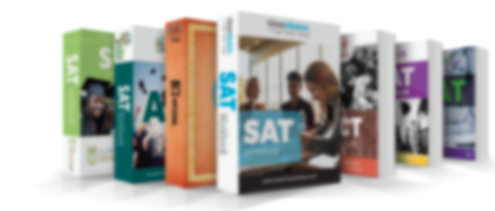 Branded SAT and ACT workbook samples