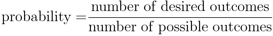 Standard probability