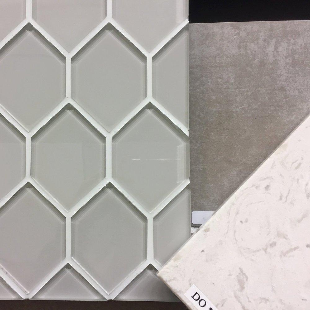 Interior design samples.
