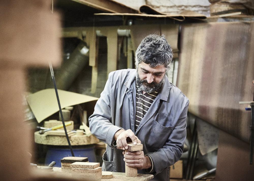 Cork Maker-Maker sanding.jpg