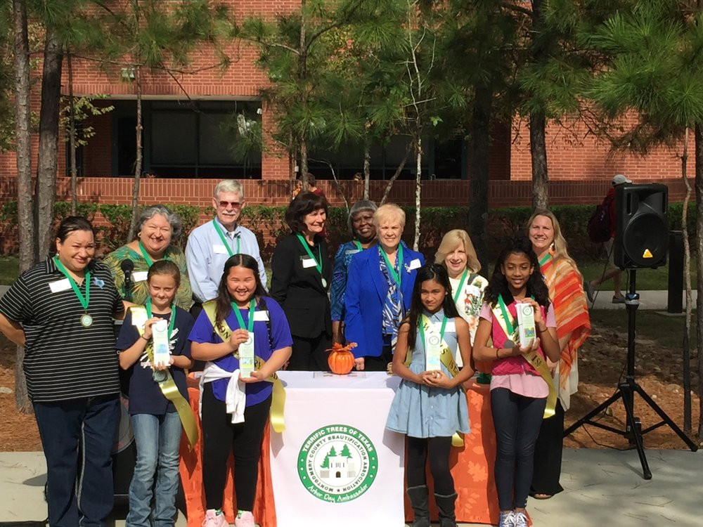 2017 Texas Arbor Day with Arbor Day Ambassadors at LSC-M