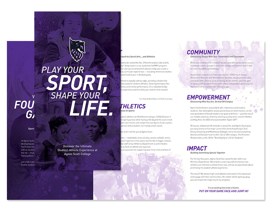Agnes Scott College Recruitment Brochure