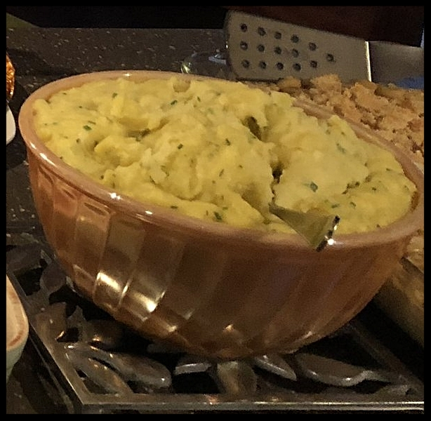 Mashed Potatoes with Crème Fraîche and Chives