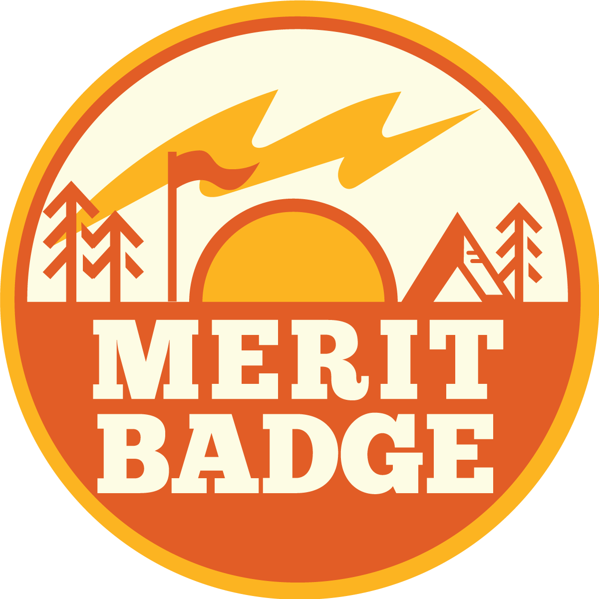 Merit Badge Doughnuts
