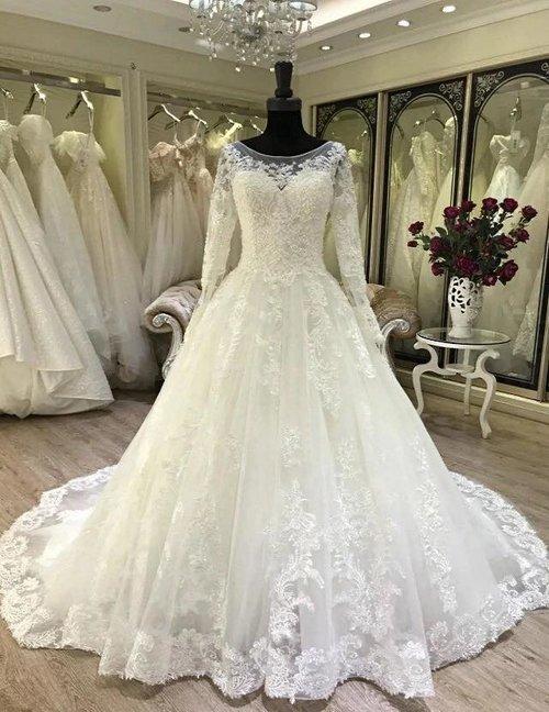 fac3053dfcd Liza 2019 Long Sleeve Lace Bridal Gown — ZAYNAB SMITH