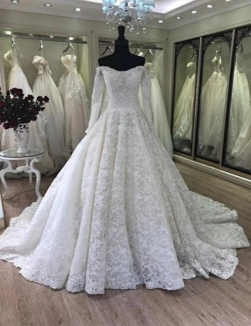 6538d464099 Piper Off Shoulder Long Sleeve lace Bridal Gown 2019 — ZAYNAB SMITH