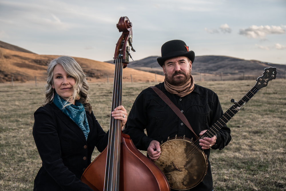 Over The Moon - Canada's roots/swing duo