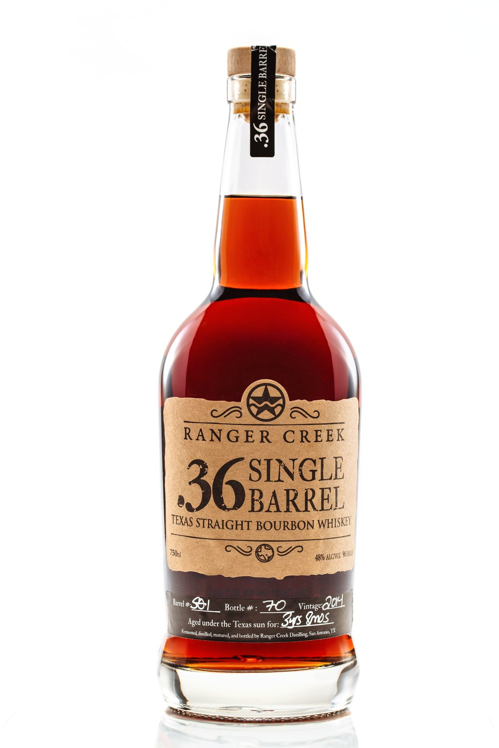 .36 Single Barrel Bottle