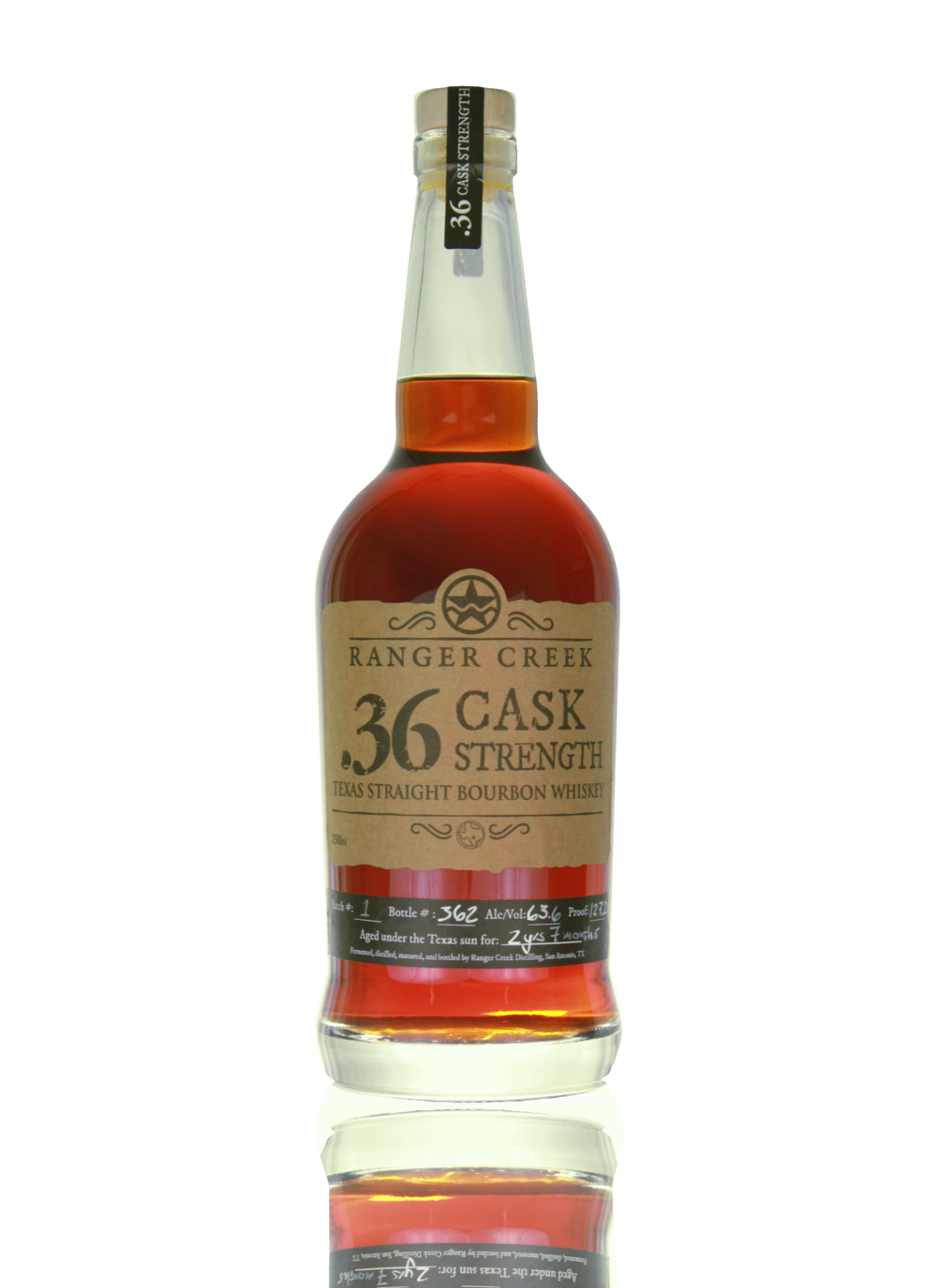 .36 Cask Strength Bottle