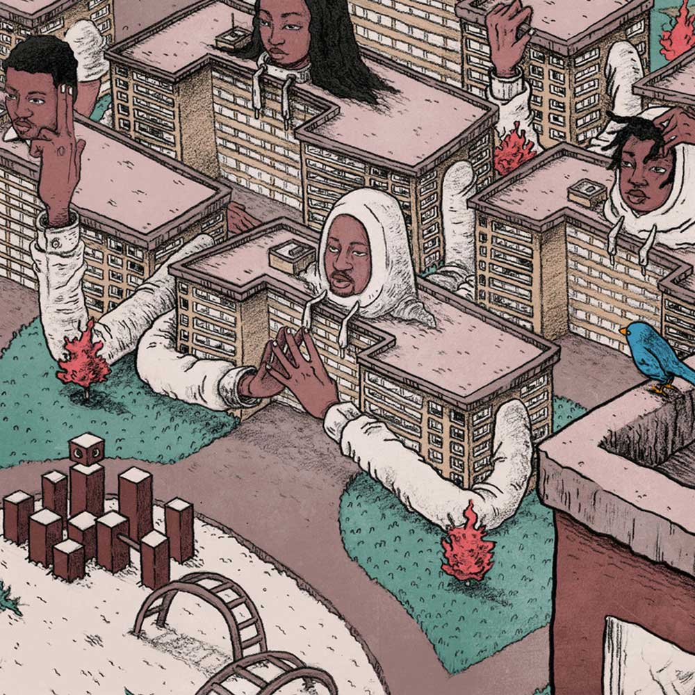 BRICK BODY KIDS STILL DAYDREAMby Open Mike EagleThis is Open Mike Eagle exploration of a complicated relationship with the place called home. - Genre: art rap