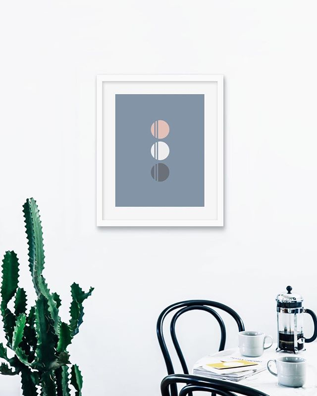 Wednesday afternoon coffee break please 🙋🏼‍♀️ . . . Print shown: Trimondo 16x20 giclee print on premium bright white matte paper