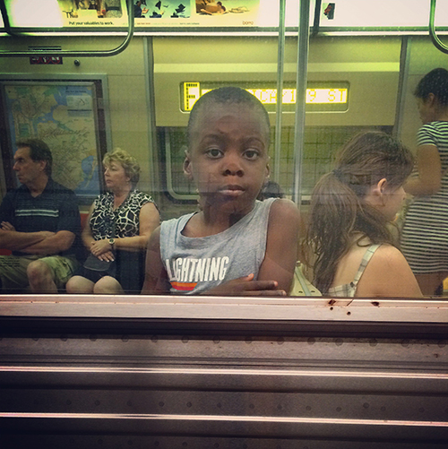 14 St Station, F Train, Manhattan, 2014