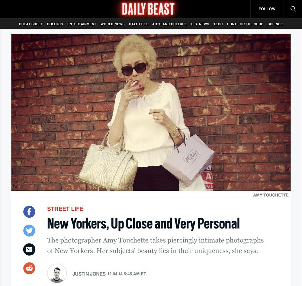 Daily Beast,Street Dailies - DECEMBER 4, 2014