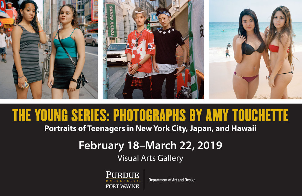 ARTIST TALKPurdue University,Fort Wayne, IN - FEBRUARY 21, 2019, 5pm The Young Series exhibits at Purdue University. Join Amy for the artist talk and reception beginning at 5pm.