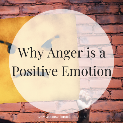 Anger is a positive emotion