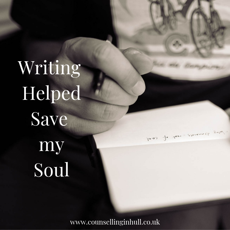 Using writing to manage mental health
