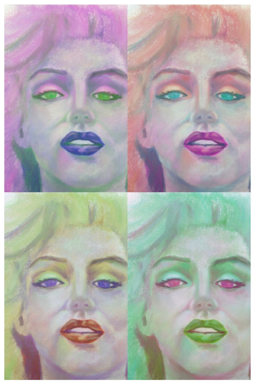 Shades of Marilyn 3 _ Ubiquitous Chameleon _ Barbara Madden.jpg