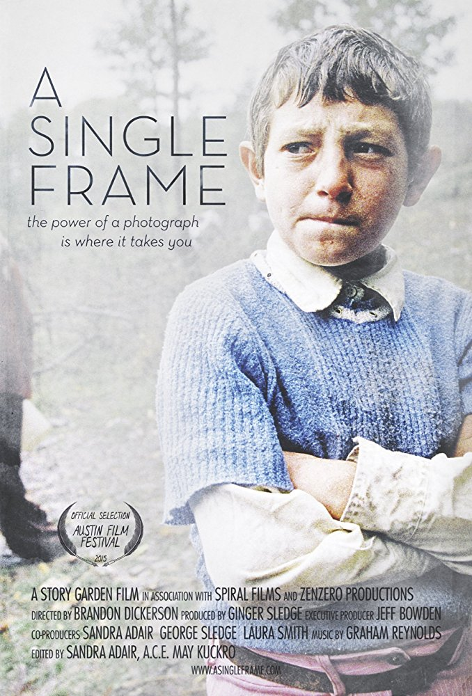 A Single Frame  Dir. Brandon Dickerson (documentary feature)  Design, edit, re-recording.