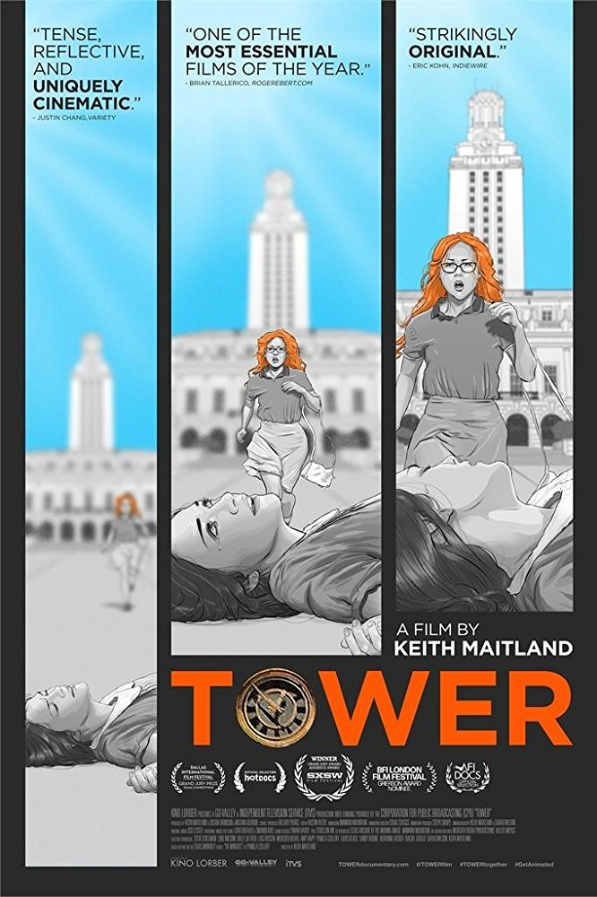 Tower  Dir. Keith Maitland (documentary feature)  Edit and foley record.