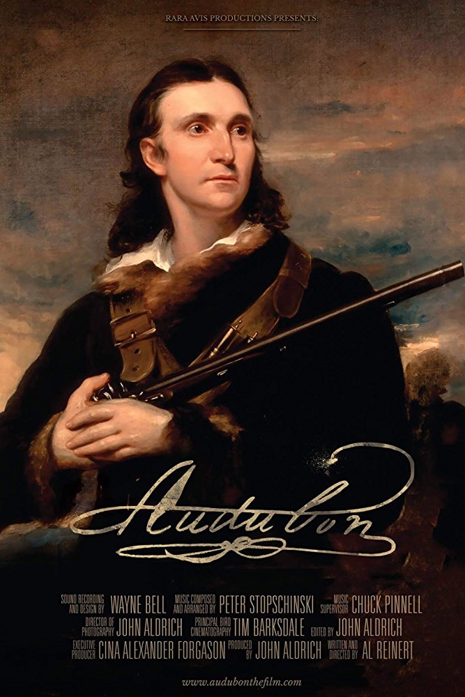 Rara Avis: John James Audubon and the Birds of America  Dir. Al Reinert (documentary feature)  Design, edit, re-recording.