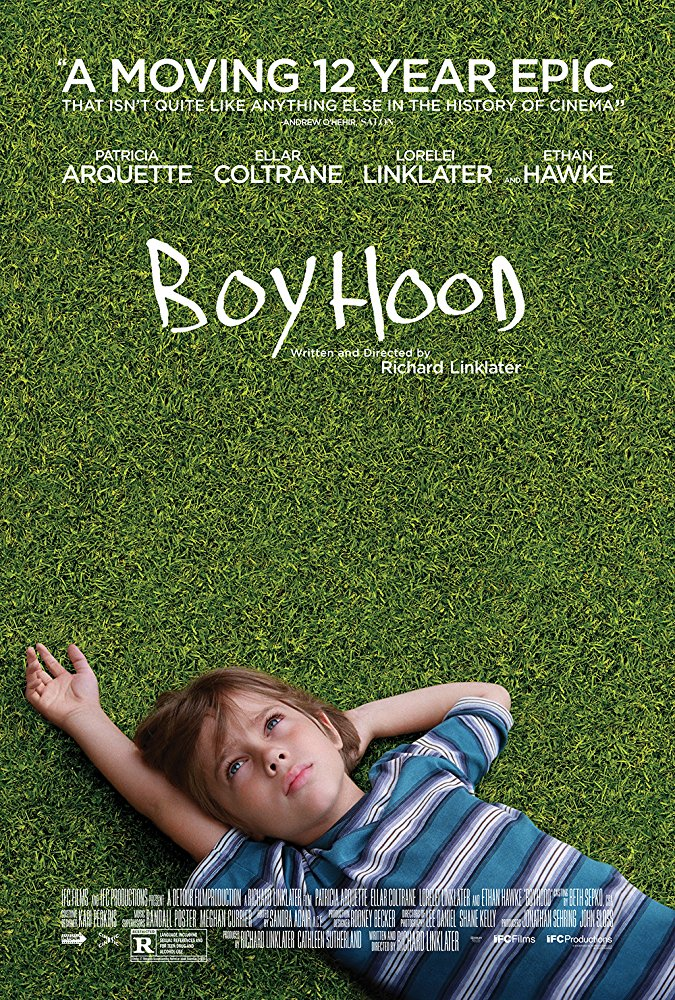 Boyhood  Dir. Richard Linklater (narrative feature)  Design, edit, re-recording.