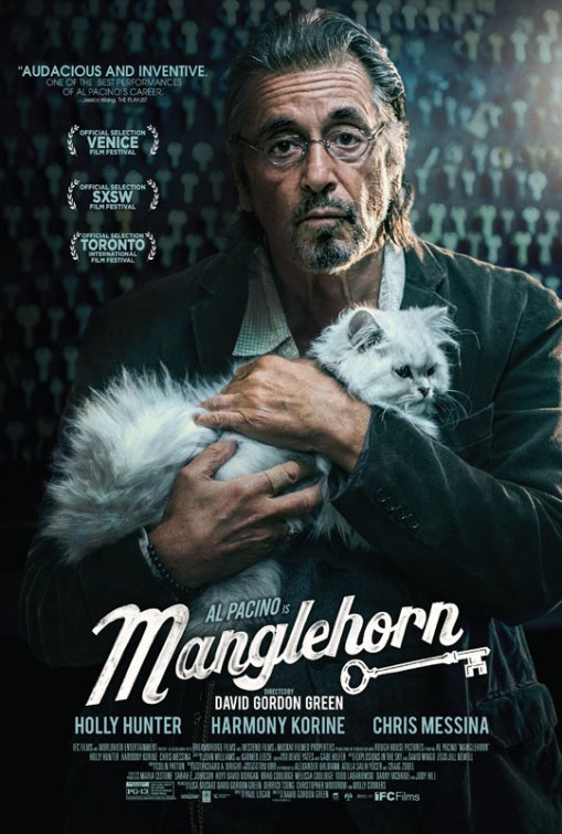 Manglehorn  Dir. David Gordon Green (narrative feature)  Design, edit, re-recording.