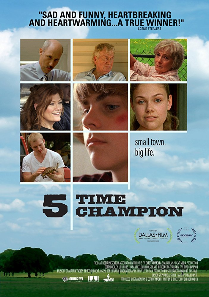 5 Time Champion  Shark Films  (narrative feature)  ADR recording, foley recording, editing, and re-recording.
