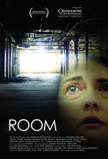 Room  Dir. Kyle Henry (narrative feature)  Editing, design, re-recording.