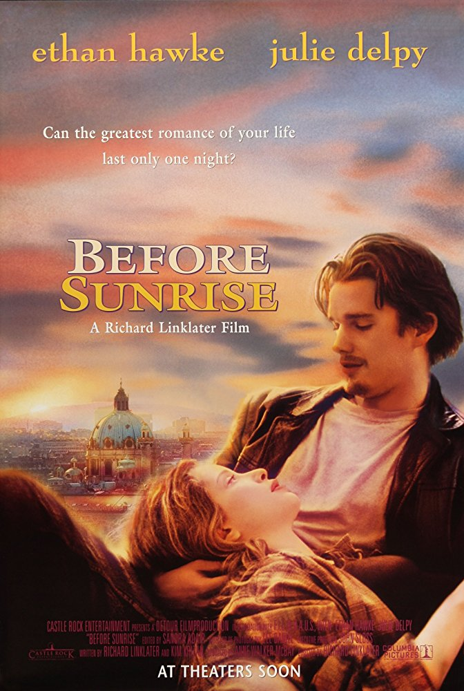 Before Sunrise  Dir. Richard Linklater (narrative feature)  Editing, sound design. Dialogue and foley editing at Danetracks. Re-record mixing at Austin Recording Studio.