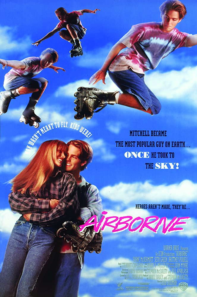 Airborne  Dir. Rob Bowman (narrative feature)  Foley editing.