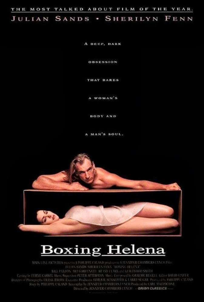 Boxing Helena  Dir. Jennifer Lynch (narrative feature)  Foley editing.