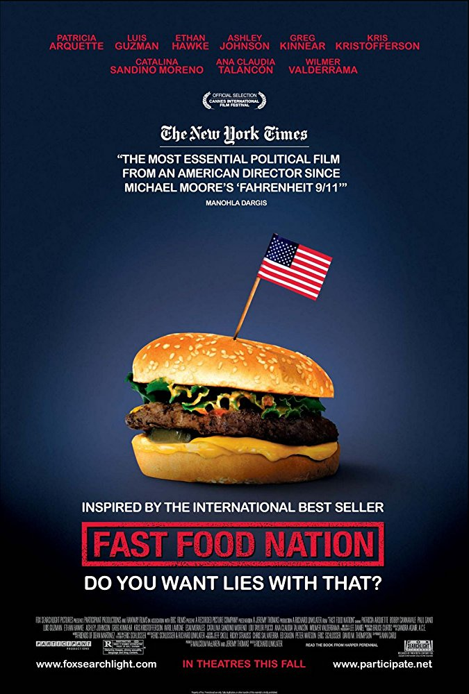 Fast Food Nation  Dir. Richard Linklater (narrative feature)  Temp editing and temp re-recording.