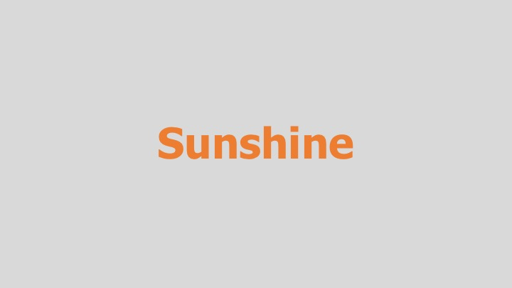 Sunshine  PBS (documentary feature)  Editing, design, re-recording.