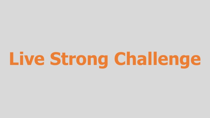 Live Strong Challenge  Alpheus Media for the Lance Armstrong Foundation (TV, web, and radio spots)  Editing, design, re-recording.