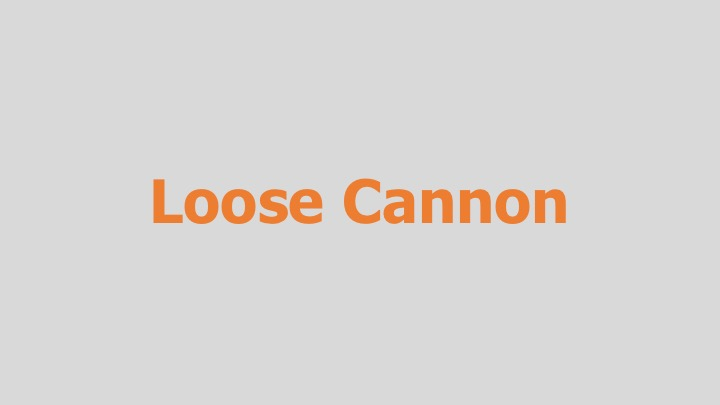 Loose Cannon  Digital Anvil (game cut sequence)  Editing, design, re-recording.