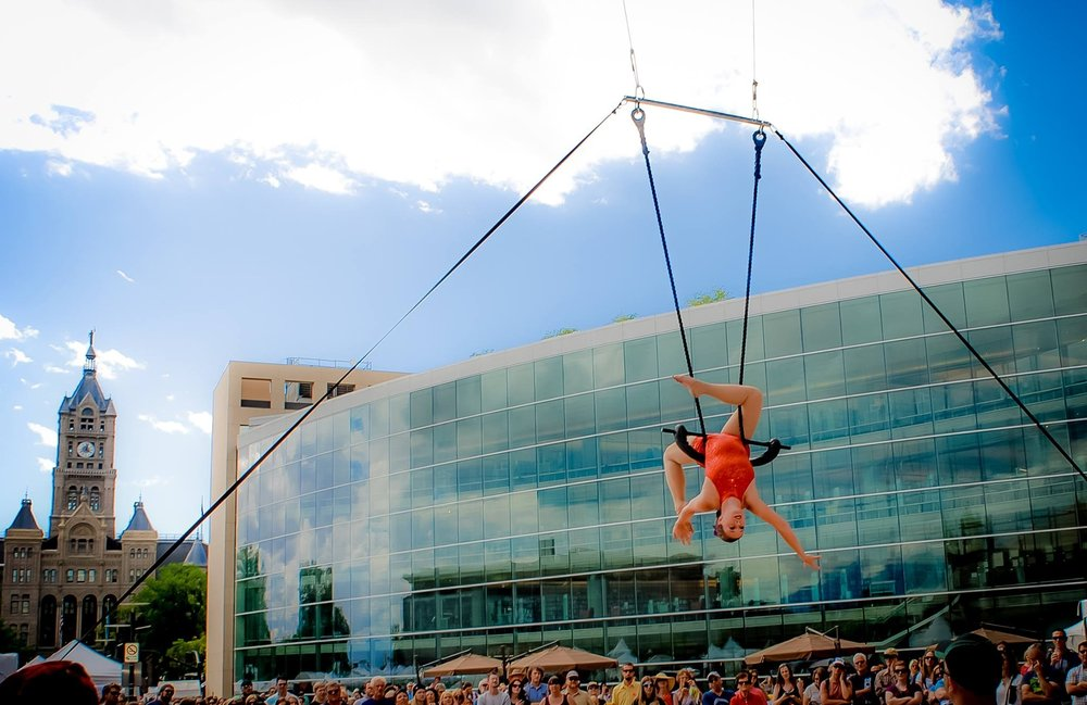 Aerial Arts of Utah @ Utah Arts Festival,Piper Mathews Ferrell,Trapeze