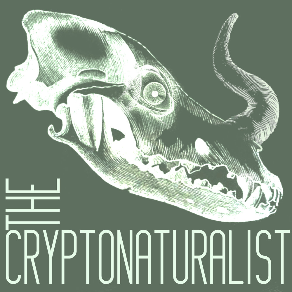 The Cryptonaturalist is a bi-weekly podcast that seeks out the strangest parts of the wilderness, flips over rocks and rotten logs, and scoops up a handful of the squirming mysteries hiding there and delivers them directly into your ears with an added helping of poetry and folksy wisdom. Weird tales and cryptid fun awaits.