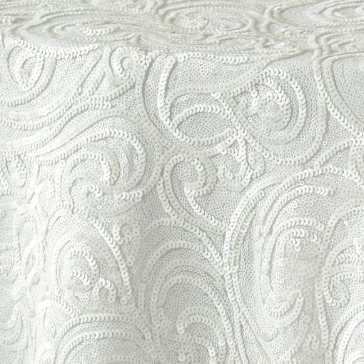 White Paisley