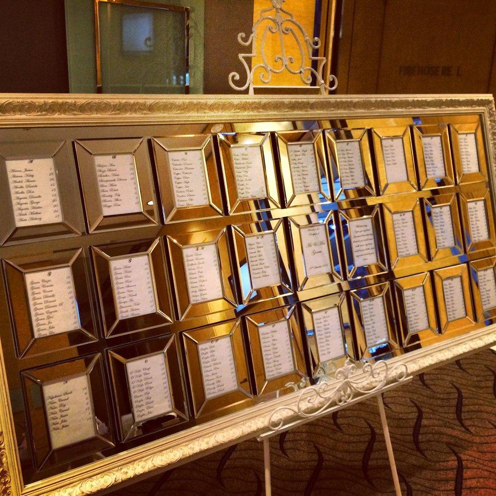 Sydney_wedding_reception_decor_baroque_ornate_27_frame_mirror_seating_chart_plan_easel.jpg