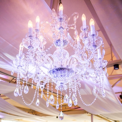 Sofia 18 arm chandelier