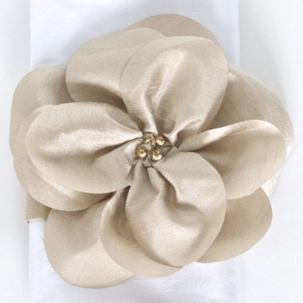 Preston Bailey Floral Napkin Band