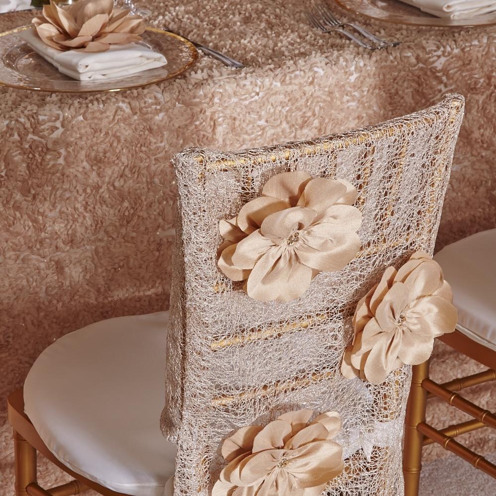 Luxury Chair Caps