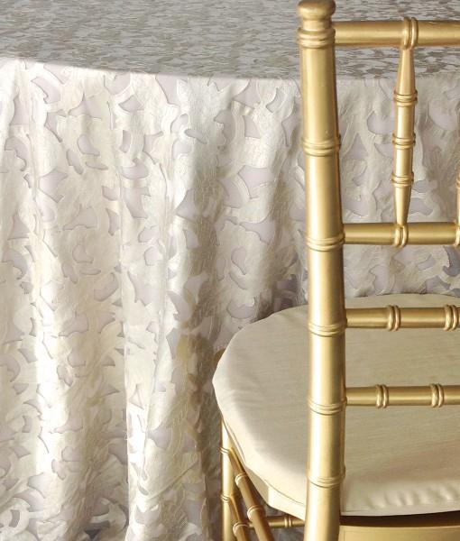 Champagne Iris Luxury Linen