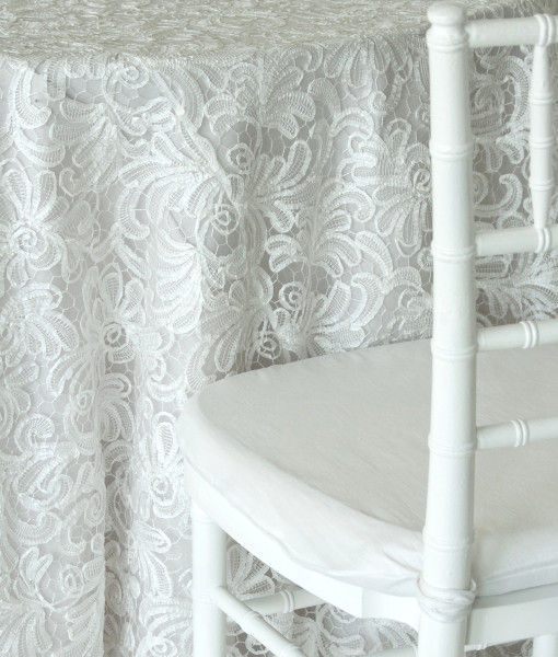 White Windsor Luxury Linen