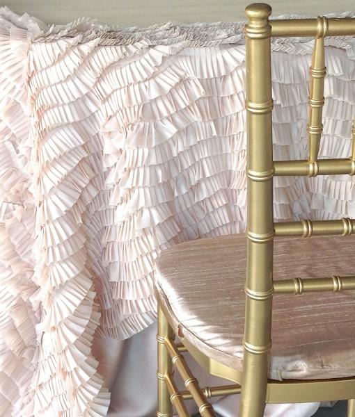 Champagne Antoinette Luxury Linen
