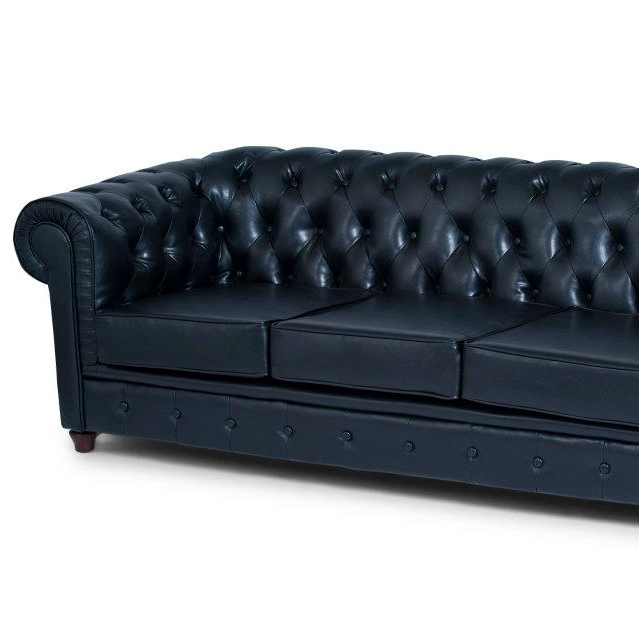 Black Chesterfield Lounge