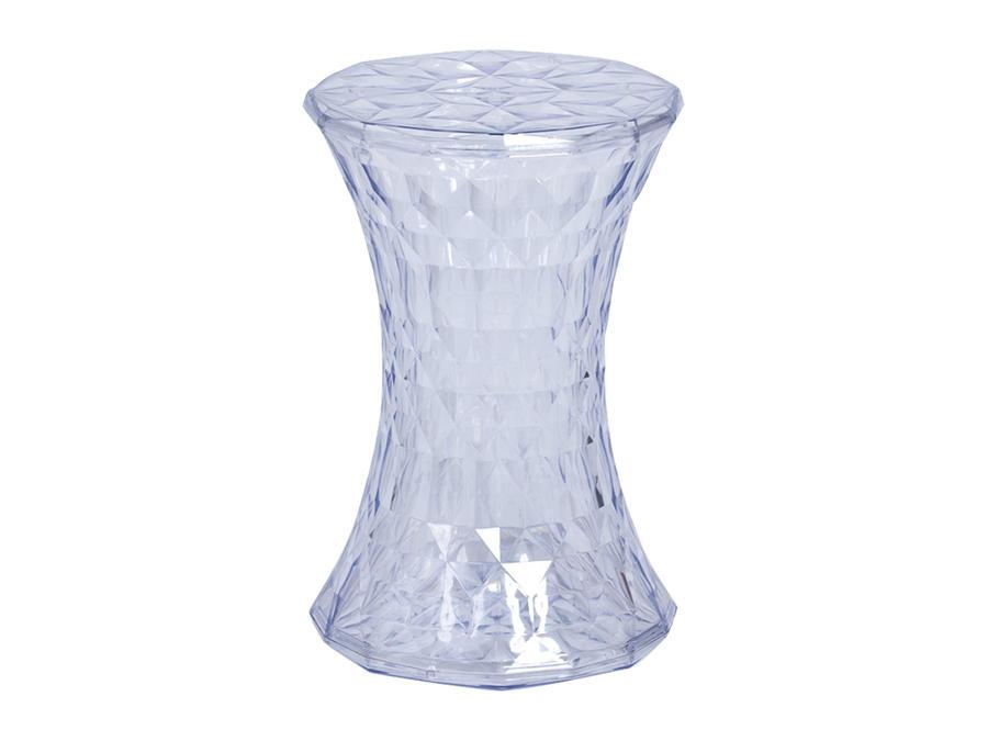 Clear Geometric Perspex Stool