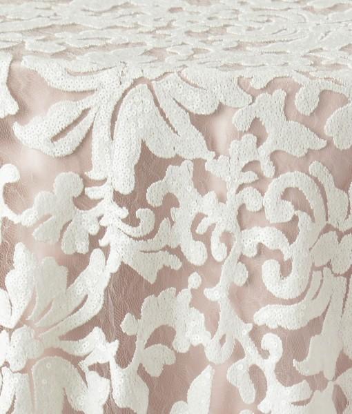 White Anita Luxury Linen