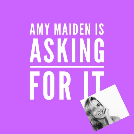 PODCAST ALERT! - I was interviewed by the wonderful Amy Maiden for her podcast 'Asking For It'. We chat about dance, body shaming, using your voice, anxiety and being vulnerable AND manage to have a laugh at the same time.... HAVE A LISTEN!