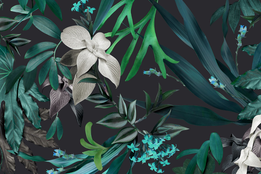 Tropical Teal fabric